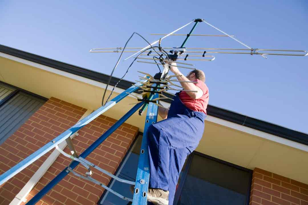 Antenna-Installation