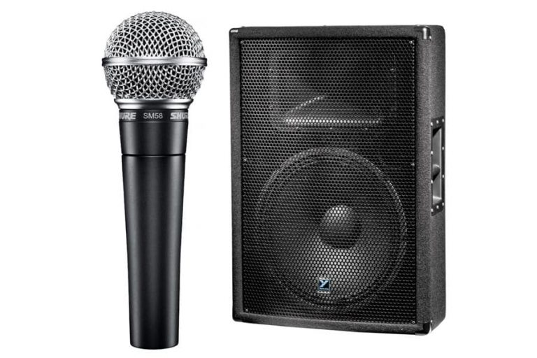 How to Set Up Speakers and a Microphone?