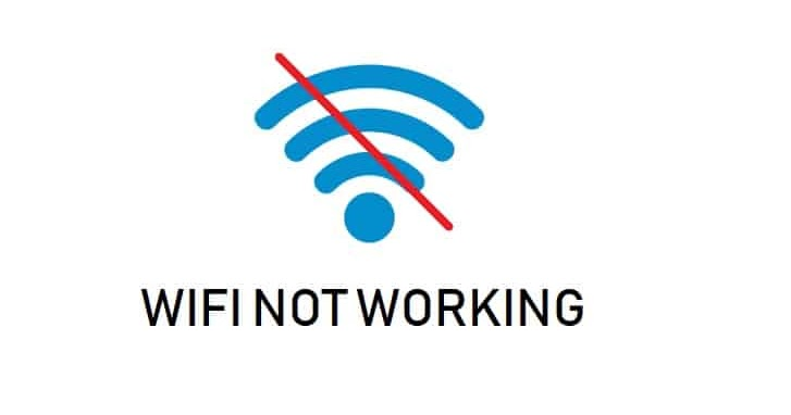 Wi-Fi Not Working